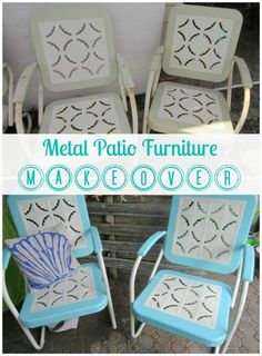 Metal Patio Furniture Makeover - Top 60 Furniture Makeover DIY Projects and Negotiation Secrets