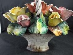 Capodimonte Floral Centerpieces