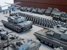 Military Parade MOC