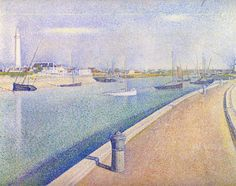 The Channel of Gravelines, Petit Fort Philippe - Georges Seurat, 1890