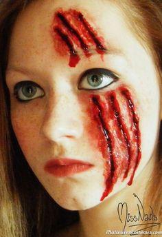 creative halloween makeup idea - Halloween Costumes 2013
