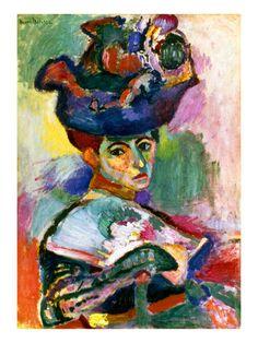 Matisse: Woman W/Hat, 1905 Giclee Print