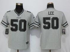 2bf75739e01 ... Women Nfl Dallas Cowboys 50 Sean Lee Gray Gridiron Gray Ii Limited  Jersey Nike ...