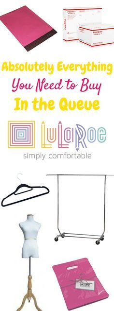 The LuLaRoe queue can seem to drag on, but here is absolutely everything you need to buy in the LuLaRoe queue so that you can hit the ground running!