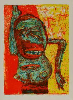 George McNeil lithographs My Painting Professor at Pratt Institute 1968-1969