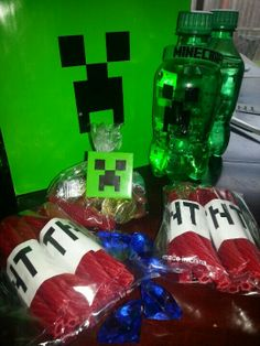 Minecraft party ideas - too neat!