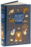 Aesop's Illustrated Fables (Barnes & Noble Leatherbound Classics), Author: Aesop
