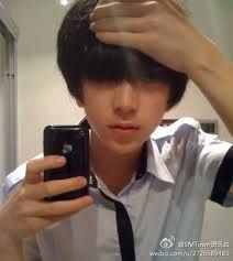 Aish....EXO member...But which one? o.o ...LuHan? Sehun? ...One of the 2.....Sehun it's you isn't it ? xp