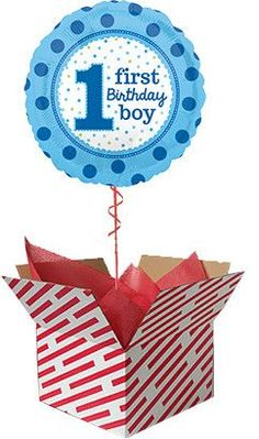 Baby Boy 1st Birthday Balloon Gifts For 18th Birthday, Baby Boy 1st Birthday, 60th Birthday Balloons, 50th, Birthdays, Big, Anniversaries, Birthday, Birthday Parties