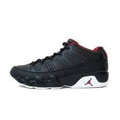 Red white and black. Can't go wrong with this classic colour way. Tthe Air Jordan 9 Lows are now available at all our retail locations #AtEazeEverywhereYouAre  #thesix #toronto #sneakerhead #sneakergame #shoegme #igsneakercommunity #spring2016 #streetwear #streetstyle #teamearly #teamcozy #jordan #jordandaily #jumpman
