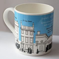 Mug - Jane Austen Places in Regency Bath