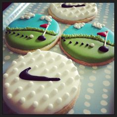 Golf Cookies - Kakes by Kristi