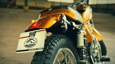SR400 'Bronco' by KEDO Yamaha Motor Europe
