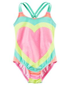 Carter's Heart Swimsuit