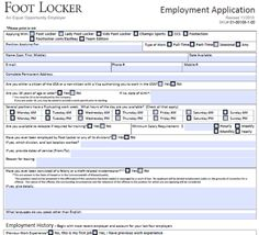 Printable job application forms online forms, Download and print ...