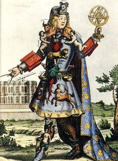 L'Astrologo di Bonnart, 1600.