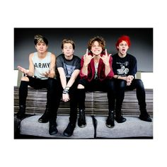 fivesource ❤ liked on Polyvore featuring 5sos