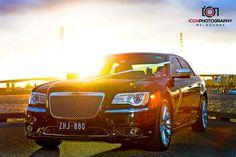 Black Chrysler sedan Melbourne