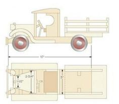 Wooden Toy Truck Plans – Wooden Toy Plans and Projects | Woodworking Session