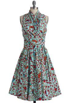 6 vestidos de estilo retro para el verano