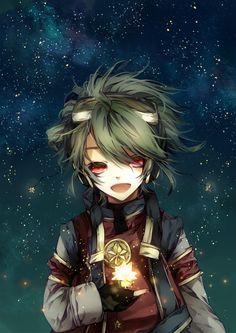#manga #anime #Child, 3Night sky