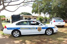 Honolulu Police Car