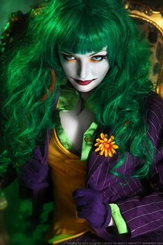 COSPLAYER: Dark Incognito (Ксения Вальпуцкая) COUNTRY: Bielorrusia CHARACTER: Joker SERIE: Batman - Dc Comics PHOTOGRAPHER: aKami777 FOLLOW HER IN: FACEBOOK AND DEVIANTART