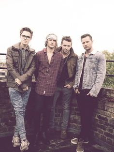 McFly - Drafted Magazine photo shoot