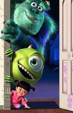 Wallpaper Monsters Inc.You can find Monsters inc and more on our website.Wallpaper Monsters Inc. Disney Kunst, Disney Art, Disney Pixar, Dark Disney, Disney Phone Wallpaper, Wallpaper Iphone Cute, Galaxy Wallpaper, Disney Cartoons, Disney Movies