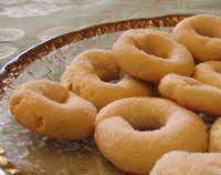 Rosquillas de Vino Recipe - Wine Ring Cookies #vegan #recipe #cookies