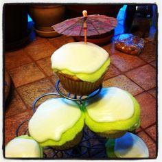 Chacho's Bakery Margarita cupcakes.