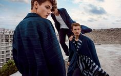 Manuel Vera Signature: Ermenegildo Zegna Couture Spring 2015 Campaign