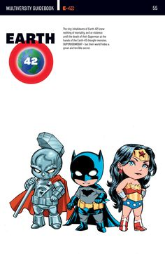 Earth-42 // The Multiversity - Guidebook #001