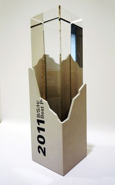 An interestingly crafted award that was presented in 2011