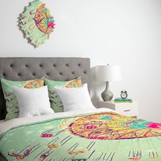 Shannon Clark Swinging Through Stars Duvet Cover | DENY Designs Home Accessories