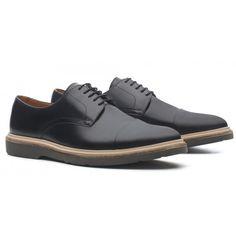 Sapato Masculino Derby Olive