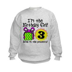 Third Birthday Sweatshirt