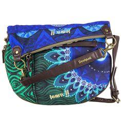 Desigual Bolso Bandolera Flap BAG Bols Doblado FUN Cebra 61X51P7 | eBay