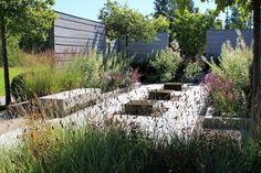 A beautiful contemporary garden designed by Ulf Nordfjell   Wij Gardens   Sweden >>  www.shapedscape.com ~ Landscape Architecture Matters <<