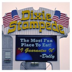 Dixie Stampede - The Most fun place to eat! Dolly guarantees it!