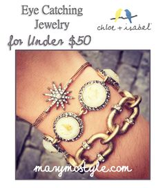 Vintage Inspired, trendy + timeless jewelry under $50. Stack these fashionable bracelets with Fall's hottest trends. Cold shoulder + plaid +leather + stripes. Wearable Chic. Shop MaryMoStyle.com