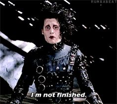 "It's okay to still be finding yourself | 31 Life Lessons From ""Edward Scissorhands"""