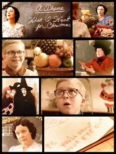 Christmas story essay ralphie from christmas