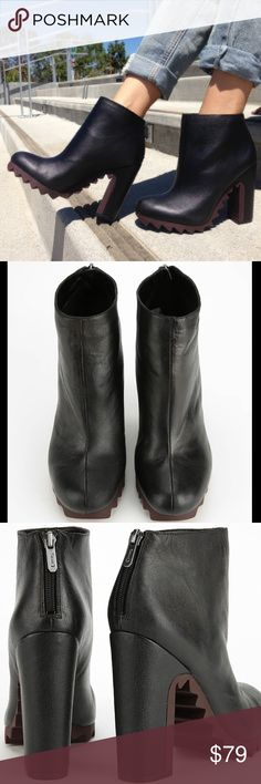 Sam Edelman circus black leather ankle booties Only worn one time and show no signs of damage or wear. These are very difficult to find! Sam Edelman Shoes Ankle Boots & Booties