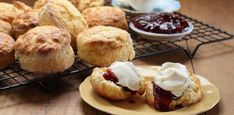 Quick, easy to make, and very delicious, you're going to love Maggie Beer's recipe for date scones, a clever take on a morning and afternoon tea staple. Easy Delicious Recipes, Yummy Food, Date Scones, Pumpkin Scones, Beer Recipes, Dessert Recipes, Desserts, No Bake Cake, Baking