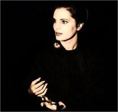 """Amália Rodrigues, portuguese fado singer.- One of the most beautiful of all words, translatable or not, this word """"refers to the feeling of longing for something or someone that you love, and which is lost."""" Fado music, a type of mournful singing, relates to saudade."""