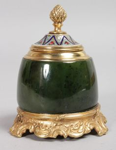 Faberge Inkpot