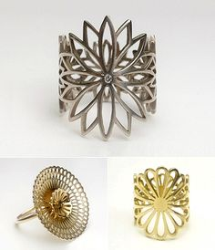 TheCarrotbox.com modern jewellery blog : obsessed with rings // feed your fingers!: Jasmine Watson / Uzuki Jewelry School