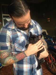 This French bulldog who is already sick of people calling him and his owners hipsters: