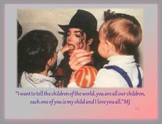 """""""The only thing that matters in life is having someone who understands you, who trusts you and who will be with you no matter what."""" Michael Jackson """"It hurts when you lose someone you love. But people always seem to … Continue reading →"""